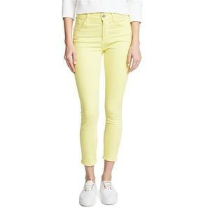 Citizen High Rise Yellow Skinny Jeans